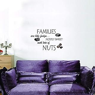 "StickieArt - ""FAMILIES are like fudge…"" - Nuts - Medium - 50 x 70 cm - STA-311"