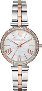 Maci Stainless Steel Three-Hand Watch