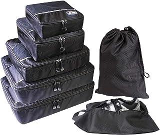 Suitcase Organizer,Packing Cubes Set,Luggage Organizer, Travel Organizer Packing Organizers Suitcase Packing Bags 7PCS