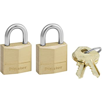 "3//4/"" Master Lock 120Q Tumbler Brass Padlock"