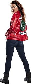 Rubie's Women Riverdale Cherry Blossom Serpent Jacket Costume Outerwear