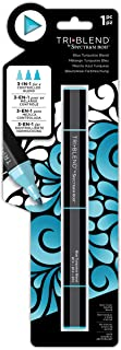 Spectrum Noir TriBlend Blendable Alcohol Marker Pens - 3 Colours in 1 Pen - Blue Turquoise