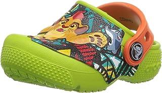 crocs Crocsfunlab 狮子图案儿童洞洞鞋
