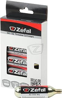 comprar comparacion ZEFAL CO2 16g Blíster 6 Cartuchos, Unisex, Plata
