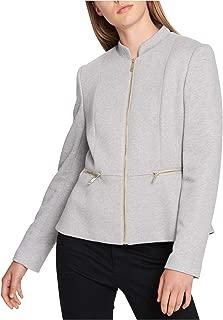 Tommy Hilfiger Womens Mock Neck Jacket