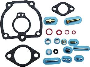 Tuzliufi Replace Carb Carburetor Rebuild Repair Kit IH Farmall 400 450 656 MV Super H M MTA W4 W6 W9 O4 O6 WR9 47387DB 50983DB 356948R92 357231R92 358065R91 358554R91 378196R94 534932R91 New Z284