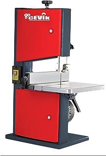 Cevik CP28-182 Sierra de madera vertical (80 mm), 230 W, Rojo, Mediano