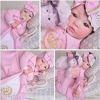 Bebe Reborn Menina Silicone Promoçao Princesa Boneca Poa Rosa
