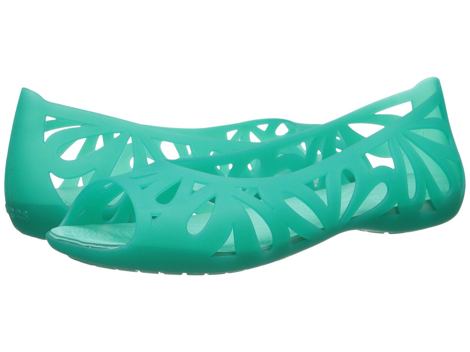 Baletas para Mujer Crocs Adrina III Peep Toe Flat  + Crocs en VeoyCompro.net