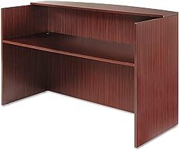 Alera VA327236MY Alera Valencia Series Reception Desk w/Counter,71w x 35 1/2d x 42 1/2h, Mahogany