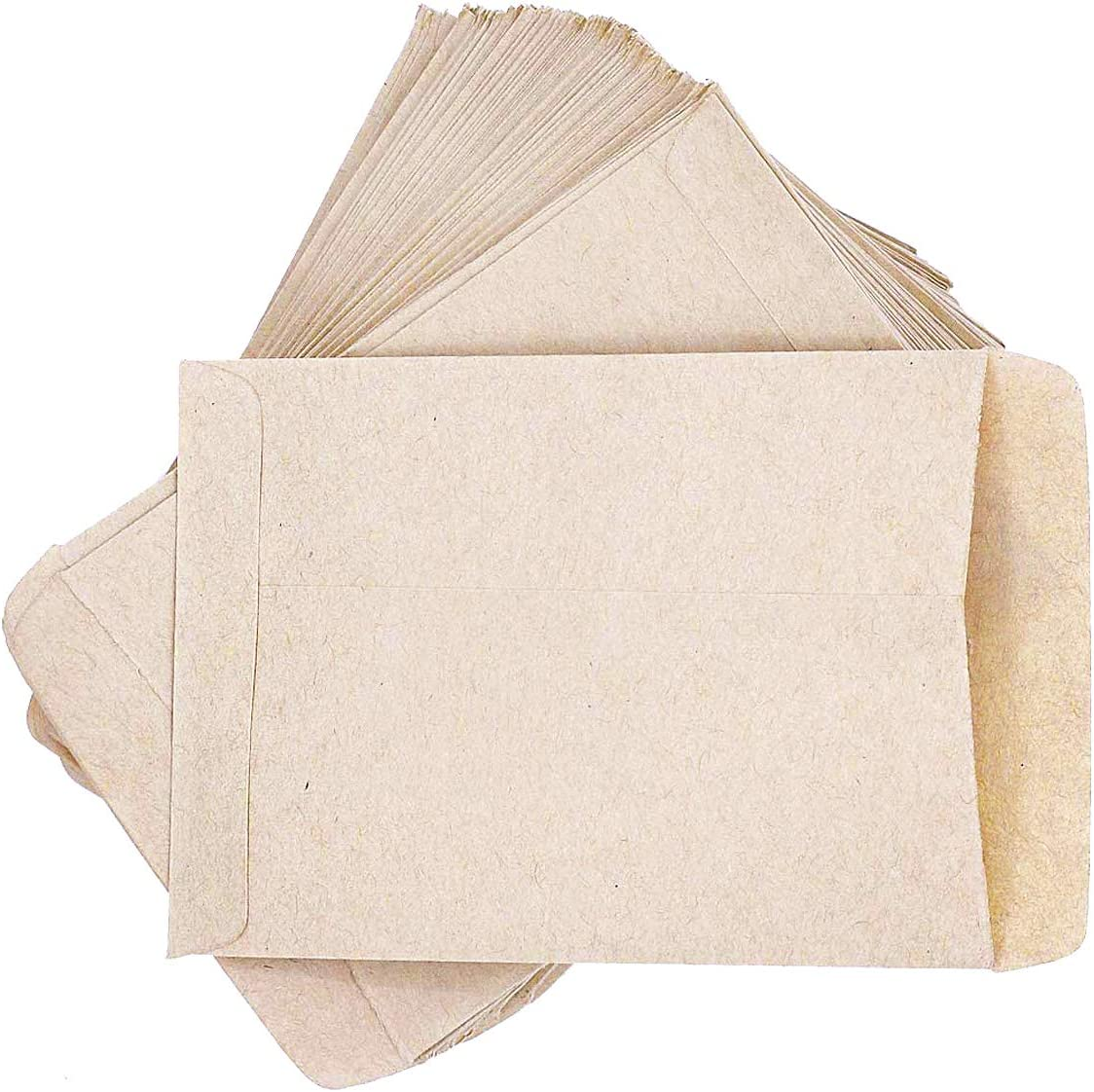 PRUNS trust 120 PCS Seed Max 54% OFF Packets Paper Envelopes Blank Empty