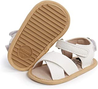 BENHERO Infant Baby Girls Boys Sandals Summer Toddler Slipper Soft Sole PU Leather Newborn First Walker Crib Shoes