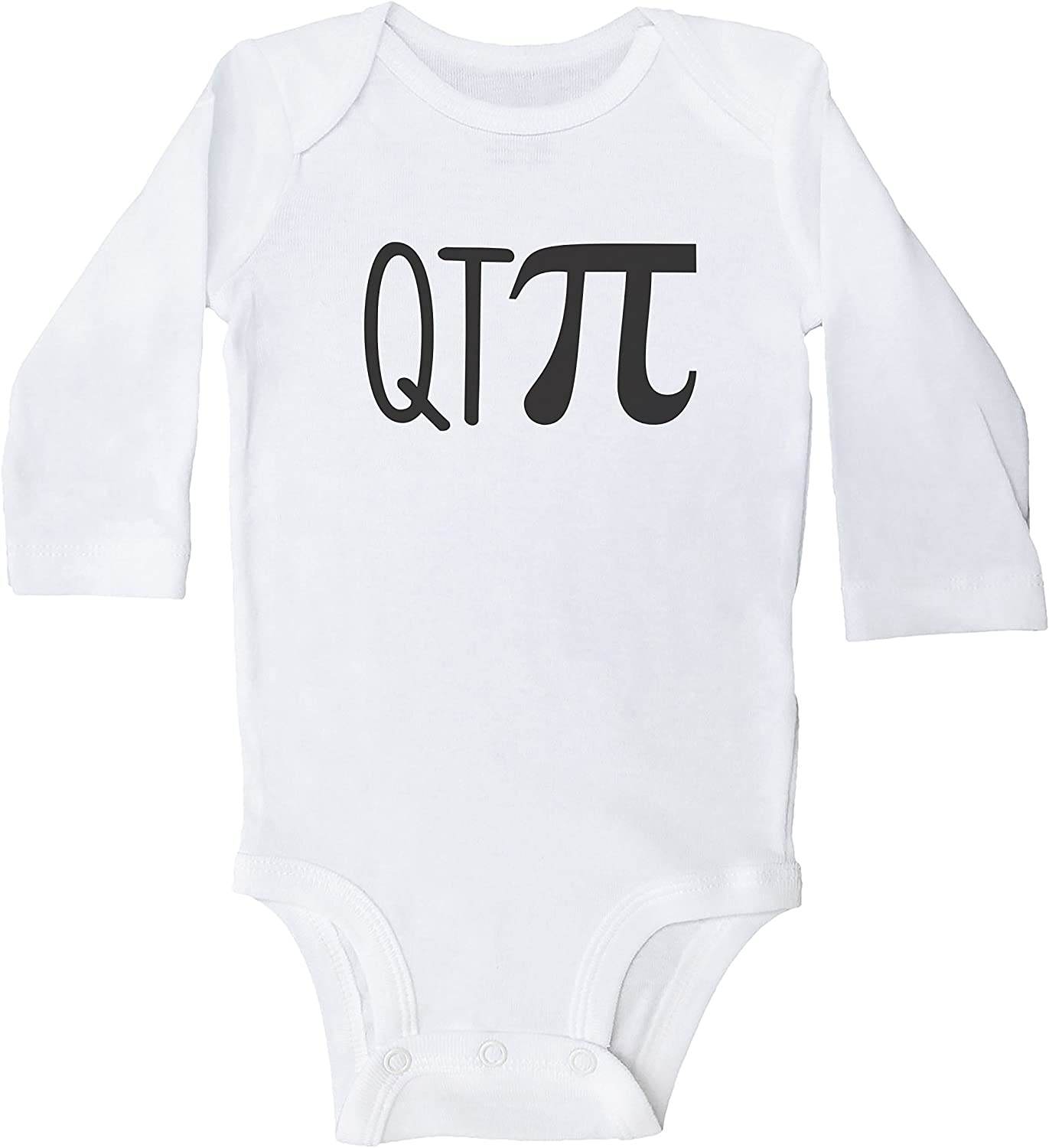 TOO CUTE ONESIE WHITE ON GRAY NEW FREE SHIPPING