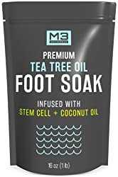 M3 Naturals Tea Tree Oil Foot Soak Infused with Stem Cell