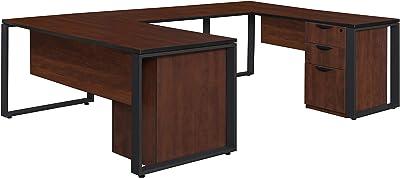 Amazon Com L Shaped Desk Bush Office Furniture Offpkg