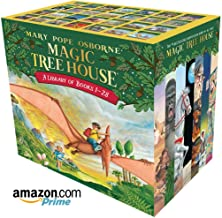 Magic Tree House Books A Library of Books 1-28 The Ultimate Box Set Of 28 Books 1-28 Books Set Osborne Mary Pope