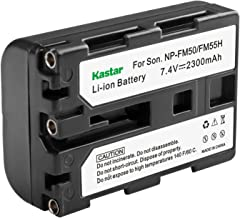 Kastar Battery for Sony NP-FM30 NP-FM50 NP-FM51 NPFM3, NPFM50 NPFM51 and Sony HVL-IRM DCR-TRV140 DCR-PC100 DCR-TRV140 DCR-TRV30 CCD-TRV128 DCR-TRV33 DCR-TRV340 CCD-TRV318 HDR-HC1 DCR-TRV20 DCR-PC110