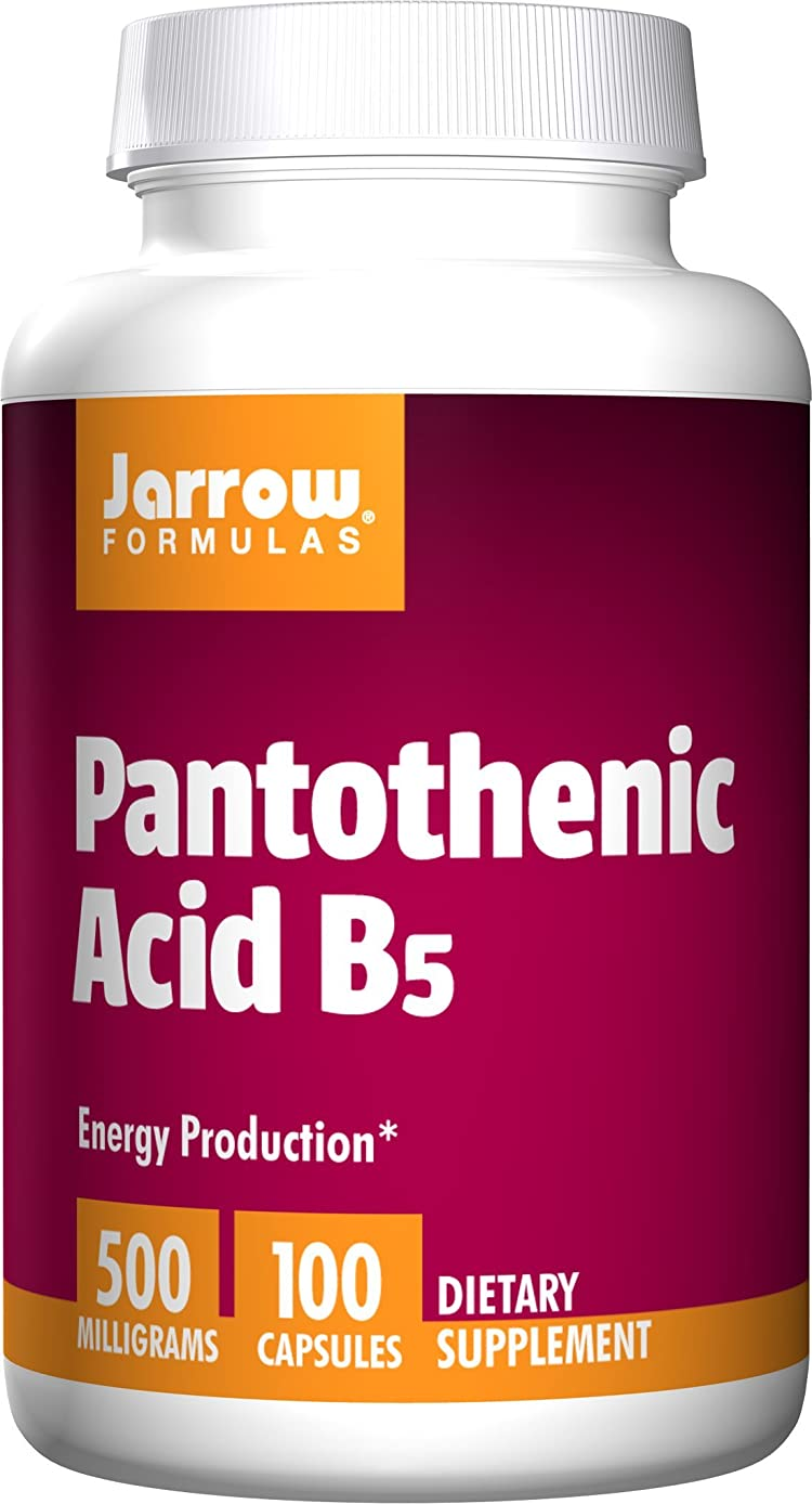 自然植生道路海外直送品 Jarrow Formulas Pantothenic Acid , 100 Caps