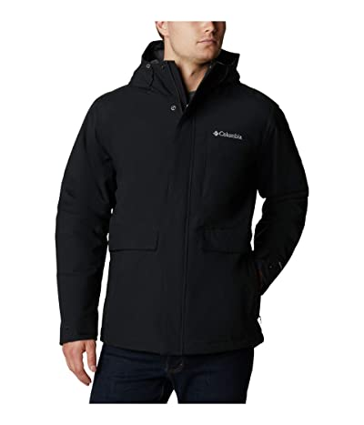 Columbia Firwoodtm Jacket (Black/Black Heather) Men