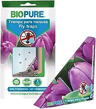 BIOPURE Kit de Trampas de Pegamento para Moscas - No