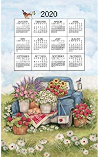 2020 Flower Truck 2020 Calendar Towel, by Kay Dee Designs