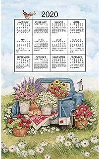 2020 Flower Truck 2020 Calendar Towel, by Kay Dee Designs