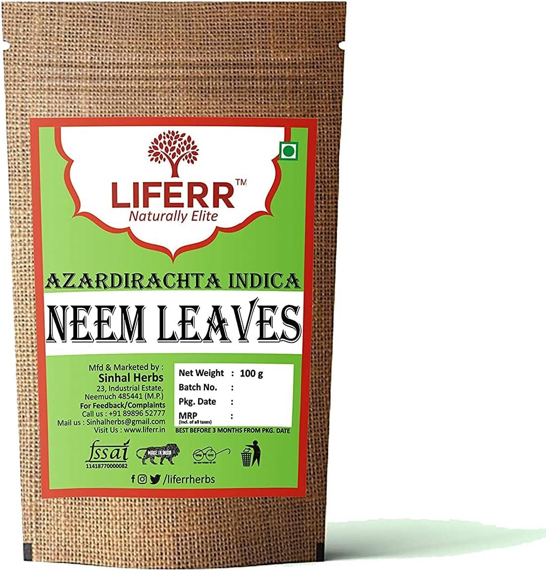 Lendom LIFERR Challenge the lowest price Neem Leaves online shopping Gm 100
