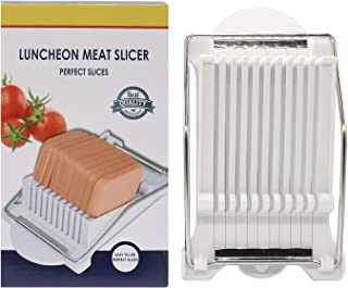 HuiYouHui Luncheon Meat Slicer - Stainless Steel Durable Luncheon Meat Slicer,Certified Safety, Slice Meats, Fruit and Sof...