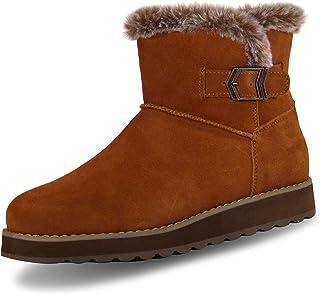 Skechers KEEPSAKES 2.0 - BROKEN ARROW - Short Buckle Boot with Fur Trim womens Ankle Boot