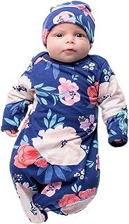 طقم ثوب وقبعة للأطفال حديثي الولادة مطبوع عليه Be Mine من Layette Romper Coming Home Outfit