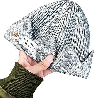 Vin Store Riverdale Jughead Beanie - Cosplay Beanie Hat Crown Knitted Cap for Men Women