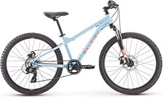 Raleigh Bikes Tokul 24 Kids Mountain Bike for Boys & girls Youth 8-12 Years Old