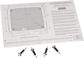 "Lowrance 000-10028-001 Flush-Mount Kit for 5"" Elite/Mark Series Displays"