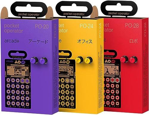 n ° 1 en línea Teenage Teenage Teenage Engineering Triple Pack Po de 20Arcade, Po de 24Office, Po de 28Robot   nuevo  alta calidad