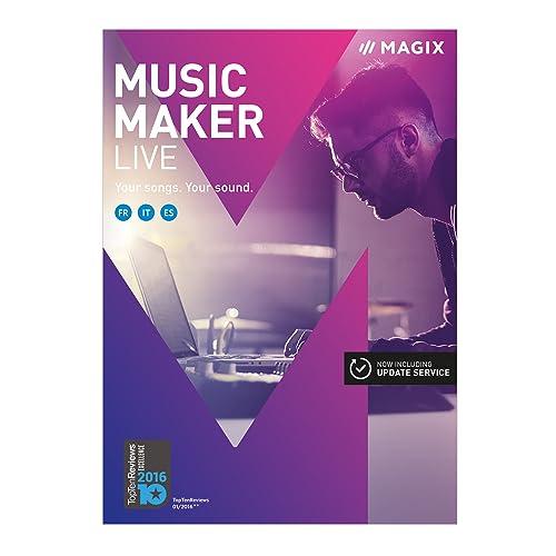 MAGIX Music Maker – 2017 Live Edition – Production musicale avec des boucles [Téléchargement]