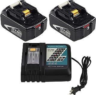 Makita 18V dtd152 impact driver 2 Batteries BL1830 CHARGEUR DC18RC /& sac LXT600