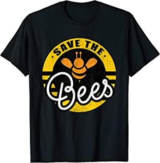 Save The Bees Planet Earth Day Beekeeper Beekeeping Bees T-Shirt