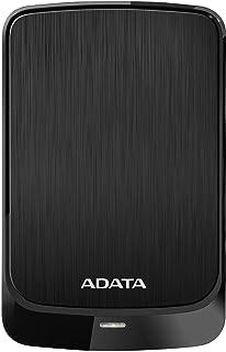 ADATA(エイデータ) AHV320-1TU31-CBK(ブラック) 外付けポータブルHDD TV・レコーダー対応 [USB3.1対応/1TB] HV320シリーズ