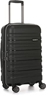Antler 4227124019 Juno 2 4W Cabin Roller Case Carry-Ons (Hardside), Black, 56 cm