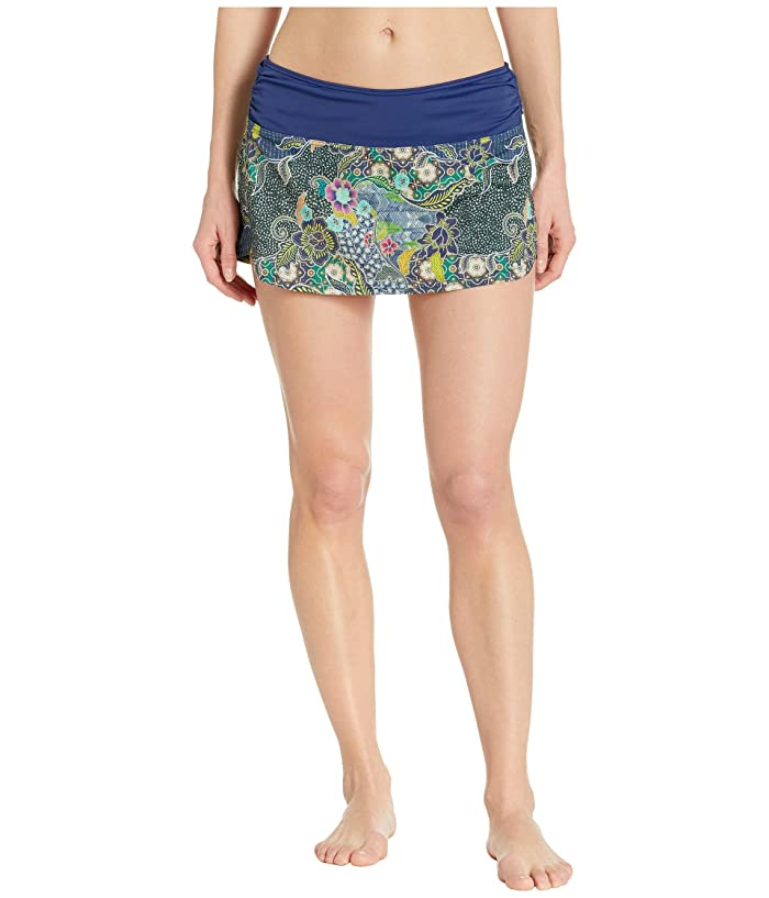 Prana Lattie Swim Skirt (Blue Anchor Kona) Women