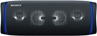Sony 索尼 无线便携式扬声器 SRS-XB43 : 防水/防尘/防锈/Bluetooth/重低音模式/带麦克风/照明功能 / 最长可连续播放24小时2020年款 / 黑色 SRS-XB43 B
