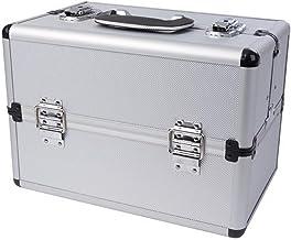 Perel 1819 2 aluminium opbergtas 360 mm x 220 mm x 250 mm Afmetingen