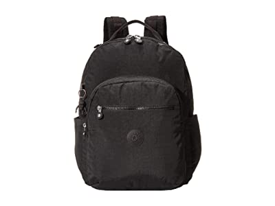 Kipling Seoul XL Laptop Backpack (Black Noir) Backpack Bags