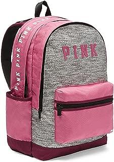 Pink Campus Backpack Rose Marl Grey