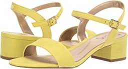 Sharp Yellow Microsuede