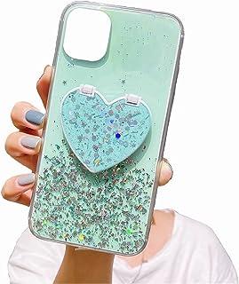 TYWZ Klart glittrande fodral för Huawei P Smart 2021, bling stjärna glitterdesign för kvinnor flickor mjuk TPU stöttålig r...