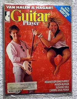 Eddie Van Halen & Sammy Hagar - Guitar Player Magazine - October 1987 - Suzanne Vega Article
