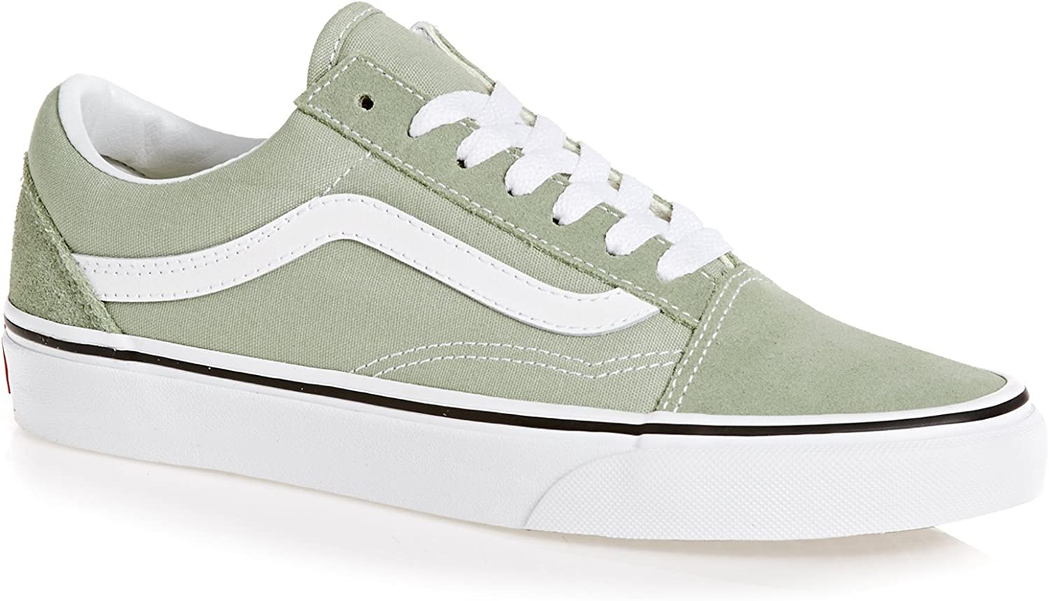 Vans Old Skool -Fall 2018-(VN0A38G1U621) - Desert Sage True White - 4
