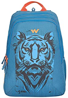 Wildcraft 44 Ltrs Blaze 3 Bike Top Blue Casual Backpack (12274_Tiger_Blue)(HxWxD : 19x13.5x10.5)(inches)