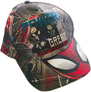 Spiderman Gorra Premium Infantil Marvel Full Print ET4022